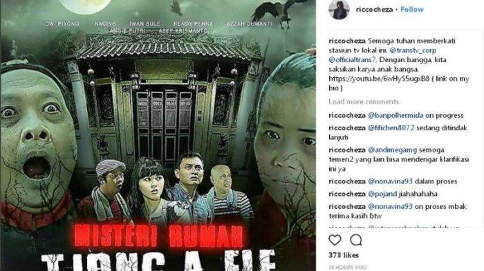 Film Misteri Rumah Tjong Fie Tuai Kontroversi Cicit Tokoh Legendaris