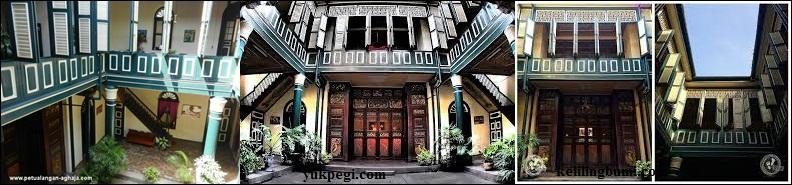 Jelajah Indonesia Rumah Tjong Fie Dermawan Cina Pintu Jendela Terbuat