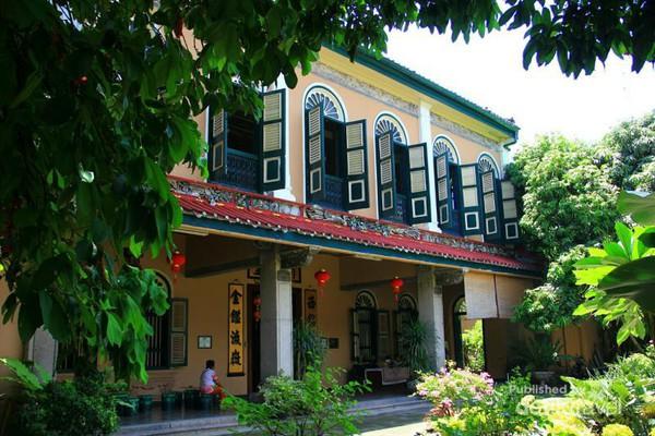 Rumah Tjong Fie Nuansa Tionghoa Kota Medan Mansion Tampak Luar