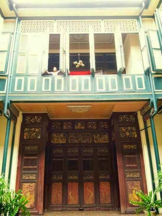 Rumah Tjong Fie Tempat Wisata Medan Sumatera Utara Kota