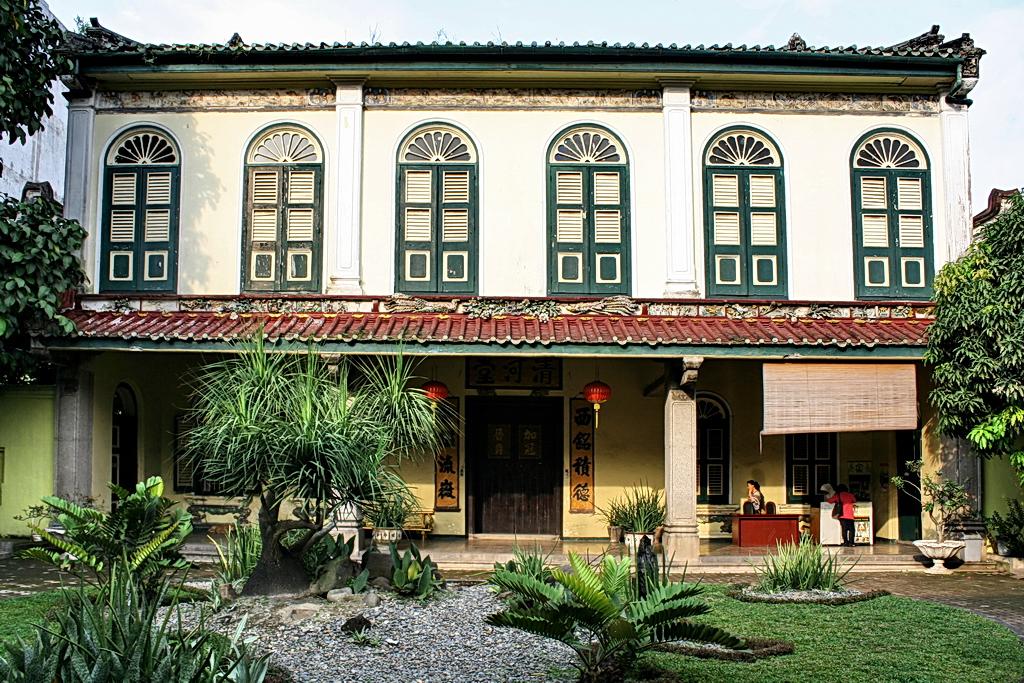 Tjong Fie Mansion Tempat Wisata Bersejarah Medan Sumatera Utara Rumah