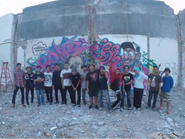 Art Kreatifitas Seni Jalanan Graffiti Medan Jelas Berita Jelasberita Hubungan