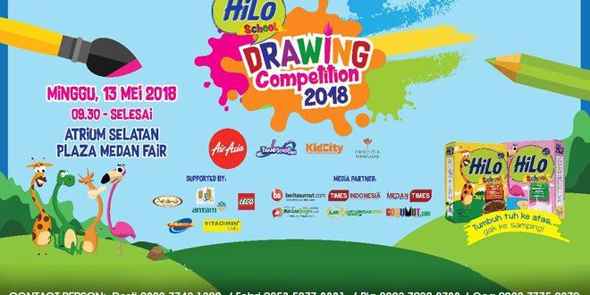 Asah Kreativitas Anak Bersama Hilo School Drawing Competition 2018 Kota
