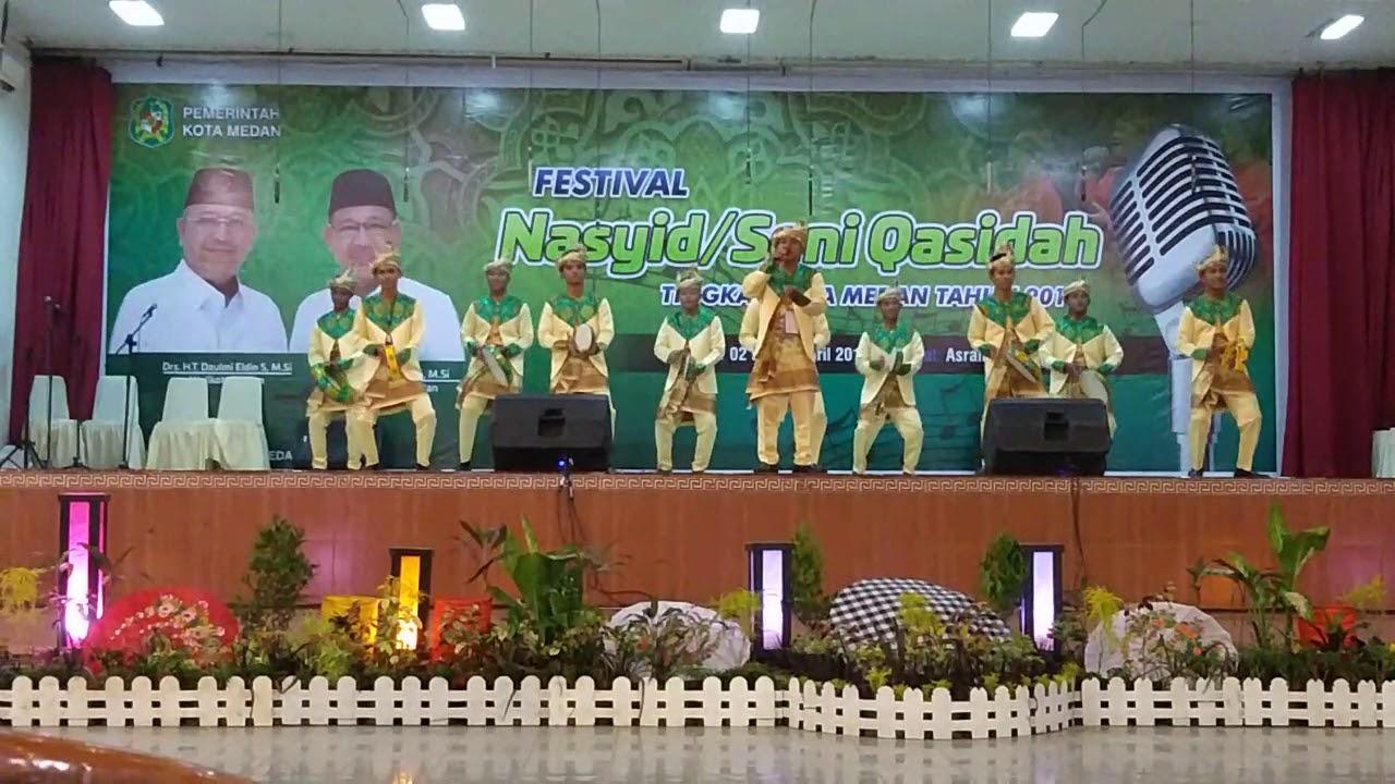Juara 1 Rebana Klasik Festival Nasyid Seni Qasidah Tingkat Kota