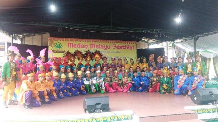Kenalkan Budaya Melayu Anak Muda Lewat Festival Taman Tribun Medan