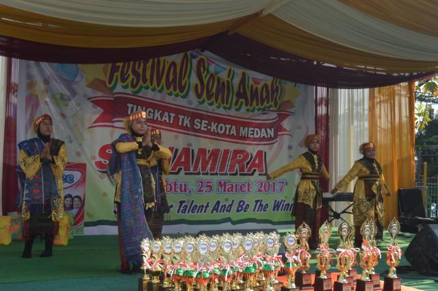 Namira Islamic School Medan Festival Seni Anak Kota