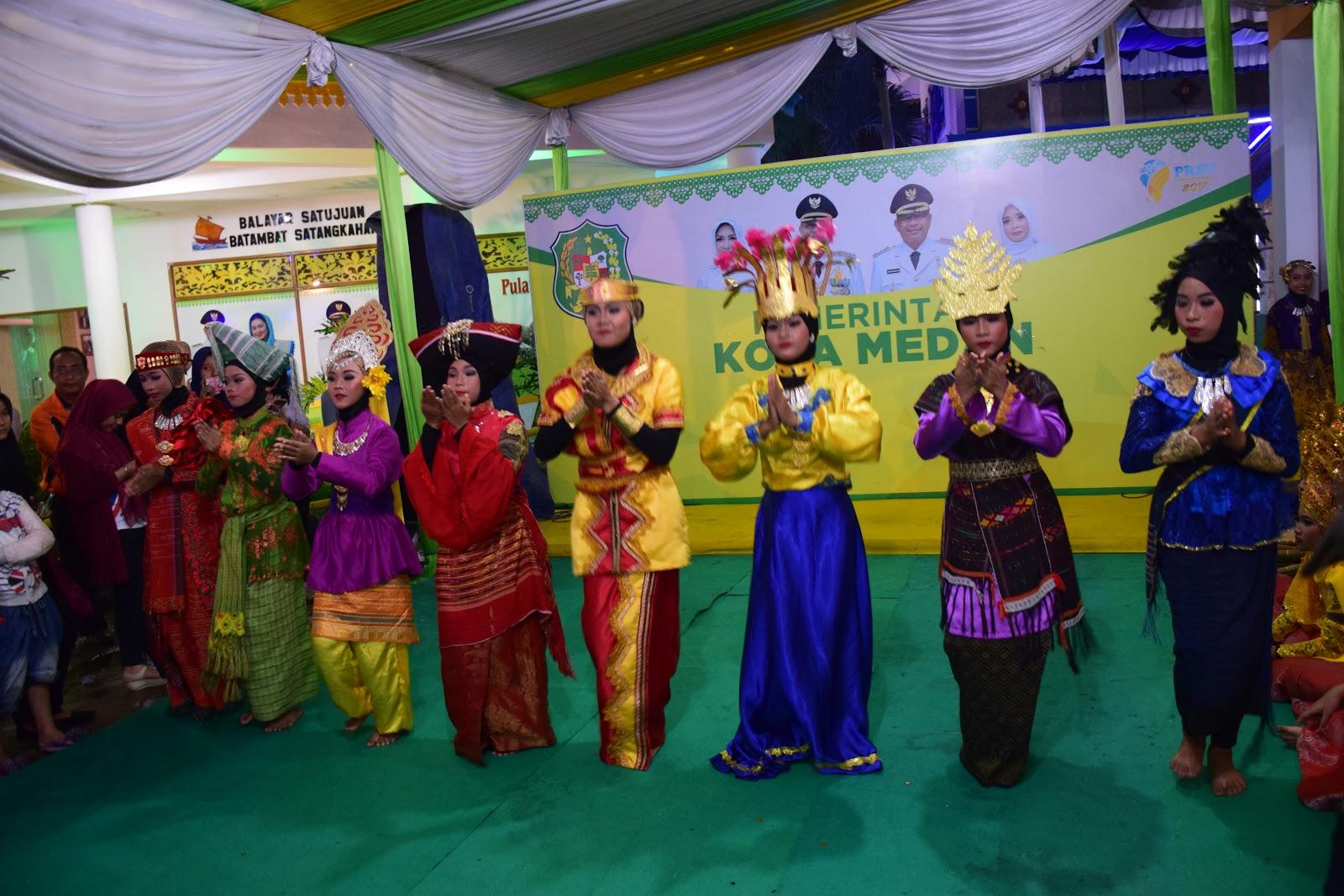 Pagelaran Seni Budaya Siswa Smpn 38 Medan Tampil Prsu Www