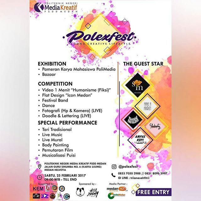 Polexfest Halo Anak Medan Jangan Ngaku Medantalk Talk Town Berita