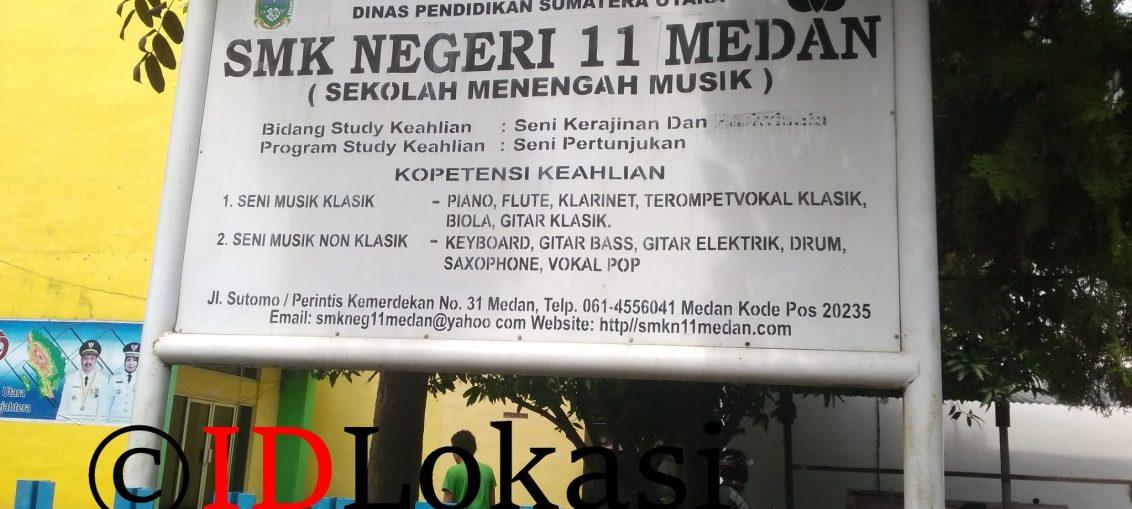 Smk Negeri 11 Medan Sekolah Musik Idlokasi Seni Anak Kota