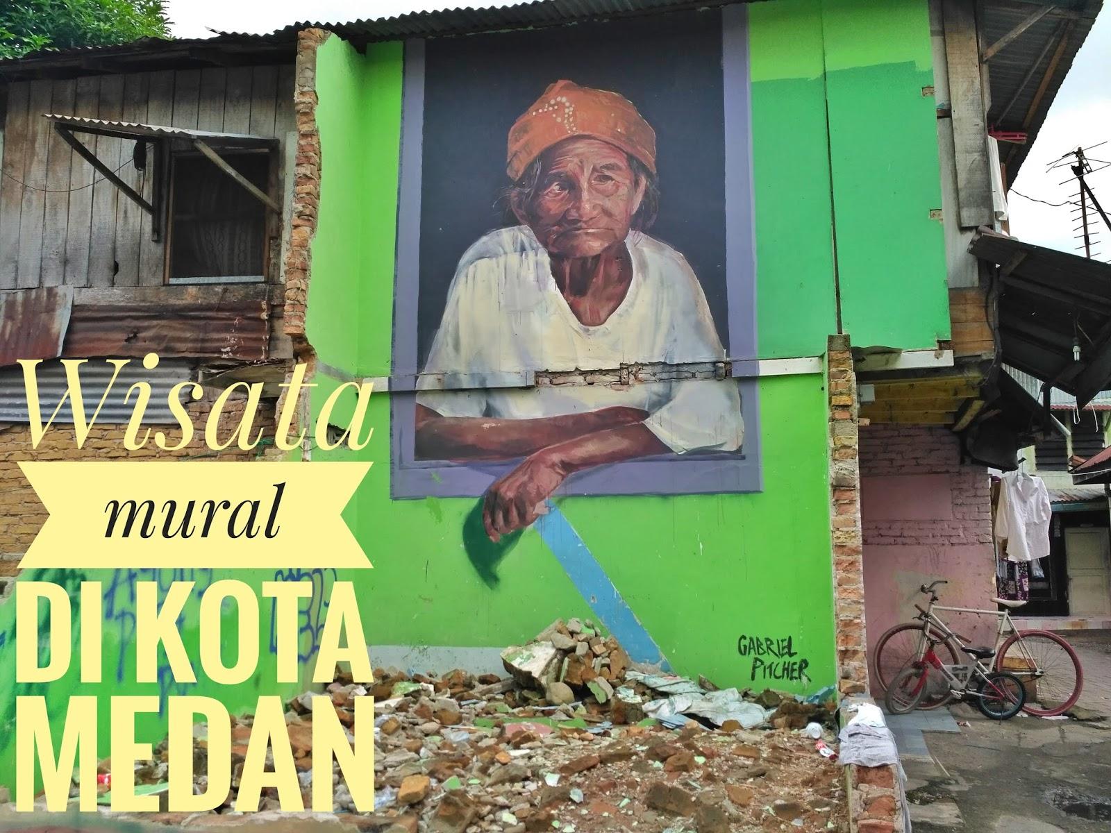 Wisata Mural Kota Medan Kotak Sejuta Mimpi Seni Anak