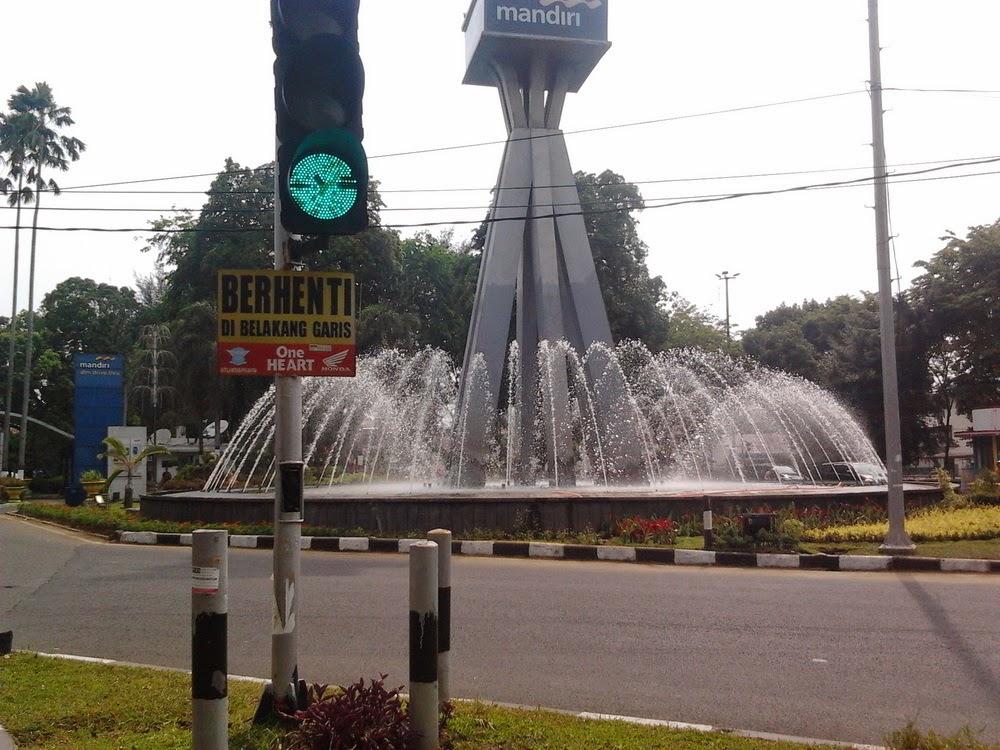 Ayo Berbagi Ilmu Air Mancur Memperindah Kota Medan Bank Mandiri