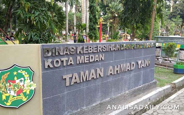 Berita Sediakan Fasilitas Taman Ahmad Yani Jadi Alternatif Rekreasi Medan