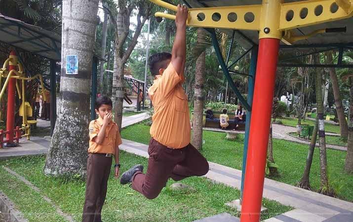 Berita Weekend Aktivitas Masyarakat Taman Ahmad Yani Medan Kota