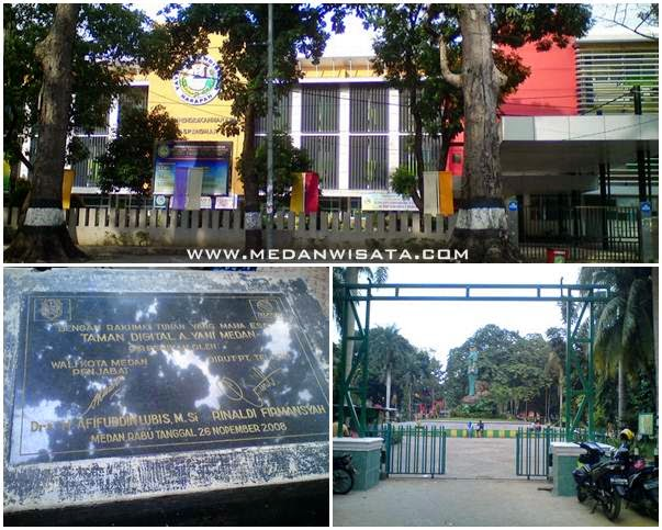 Sejuknya Taman Ahmad Yani Medan Wisata Life Story Travel Kota