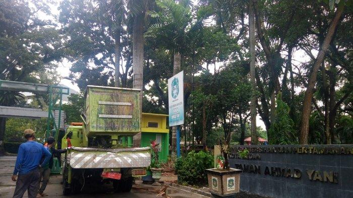 Taman Kota Rapi Masyarakat Ikut Berpartisipasi Tribun Medan Perawatan Ahmad