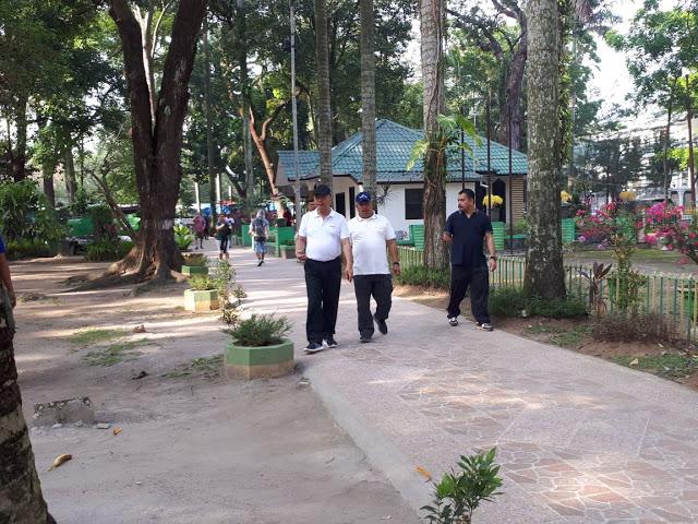 Wali Kota Medan Pantau Kondisi Taman Ahmad Yani Mimbaronline Id