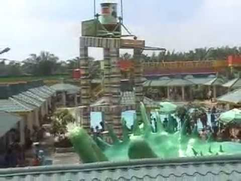 Bima Utomo Waterpark Youtube Taman Air Kota Medan