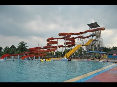 Hairos Waterpark Youtube Taman Air Bima Utomo Kota Medan