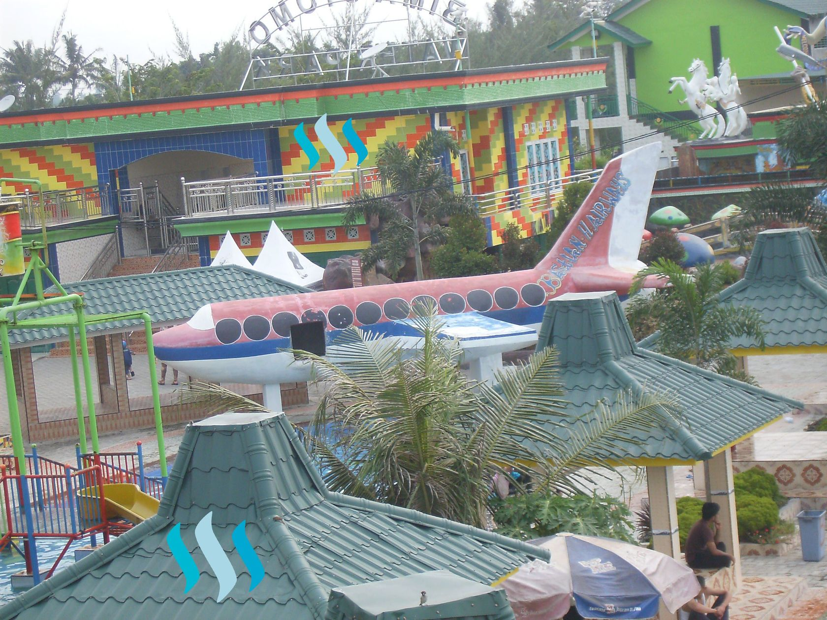 Travel Bima Utomo Waterpark Medan Entrance Ticket January 2018 Taman
