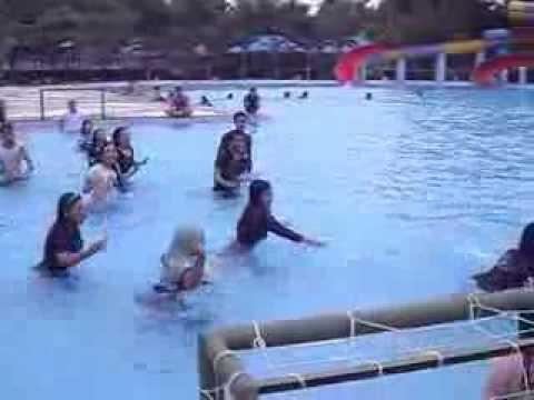 Akper Binjai Hairos Water Park Medan Youtube Taman Air Kota