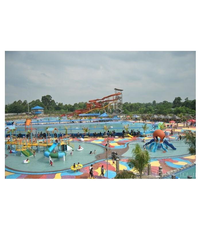 Hairos Water Park Enjoy Medan Taman Air Kota