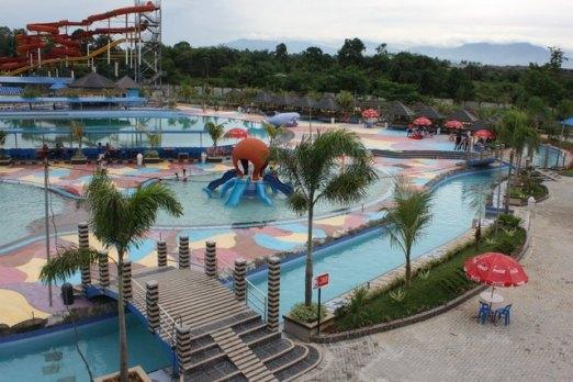 Hairos Water Park Lokalaku Taman Air Kota Medan