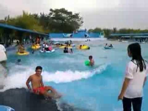 Hairos Water Park Youtube Taman Air Kota Medan