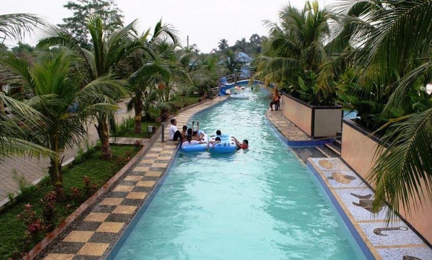 Keseruan Liburan Wisata Keluarga Waterpark Hairos Medan Tempat Permainan Tersedia