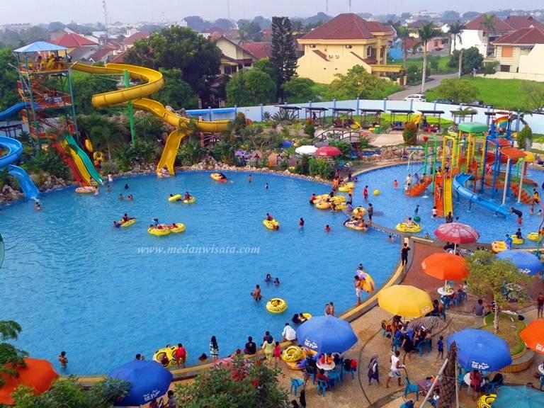 Main Bumi Asri Fun Splash Waterpark Medan Wisata Life Taman