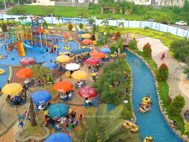 Main Bumi Asri Fun Splash Waterpark Medan Wisata Life Waterboom