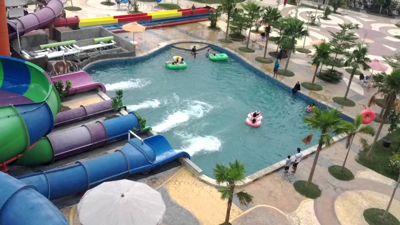 Slide Wonders Water World Park Cbd Polonia Medan Indonesia Youtube