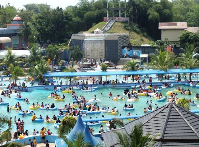 Wahana Waterpark Medan Semedan Hairos Jalan Jamin Ginting Pancur Batu