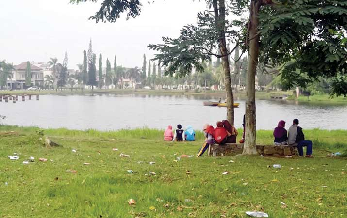 Berita Taman Cadika Medan Minim Fasilitas Publik Harian Analisa Pramuka