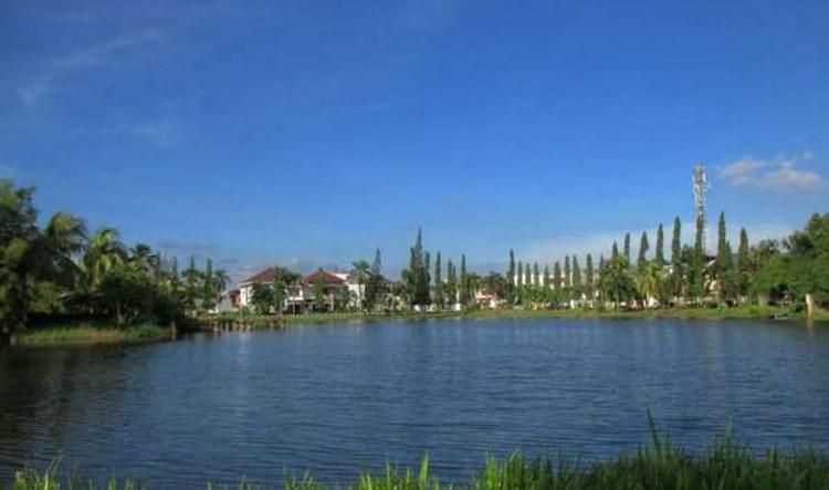 Danau Taman Cadika Medan Keindahan Pramuka Kota