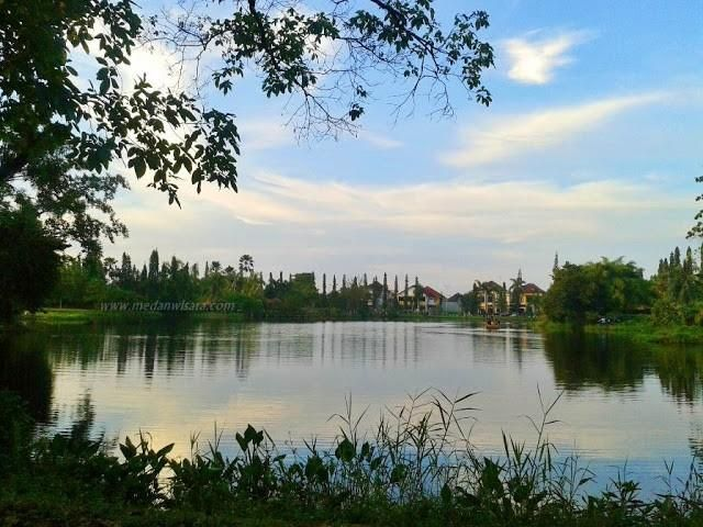 Dusk Taman Cadika Pramuka Medan Steemit Park Family Recreation Equipped
