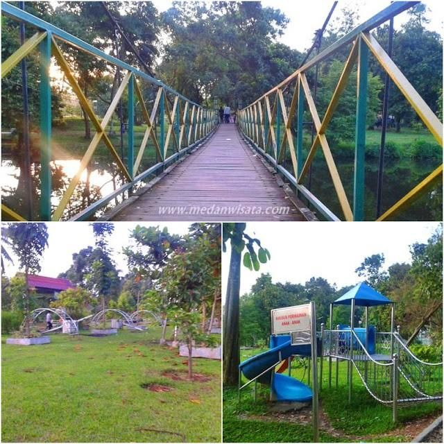 Dusk Taman Cadika Pramuka Medan Steemit Park Managed Parts Property