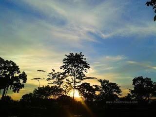 Dusk Taman Cadika Pramuka Medan Steemit Parks Relax Moment Remove