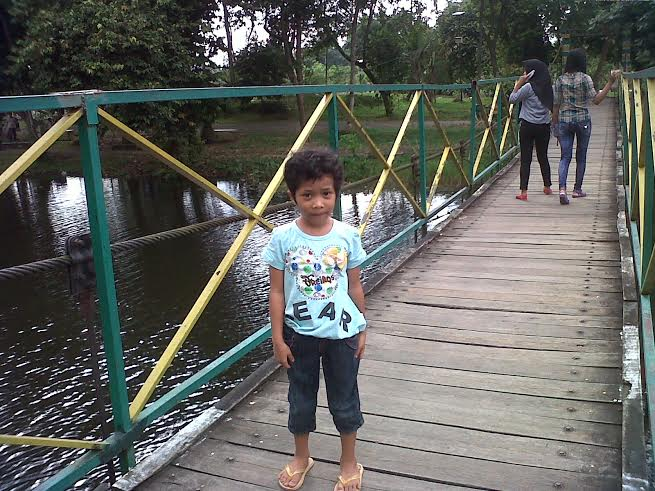 Jembatan Taman Cadika Pramuka Mulai Keropos Mobile Harian88 Kota Medan