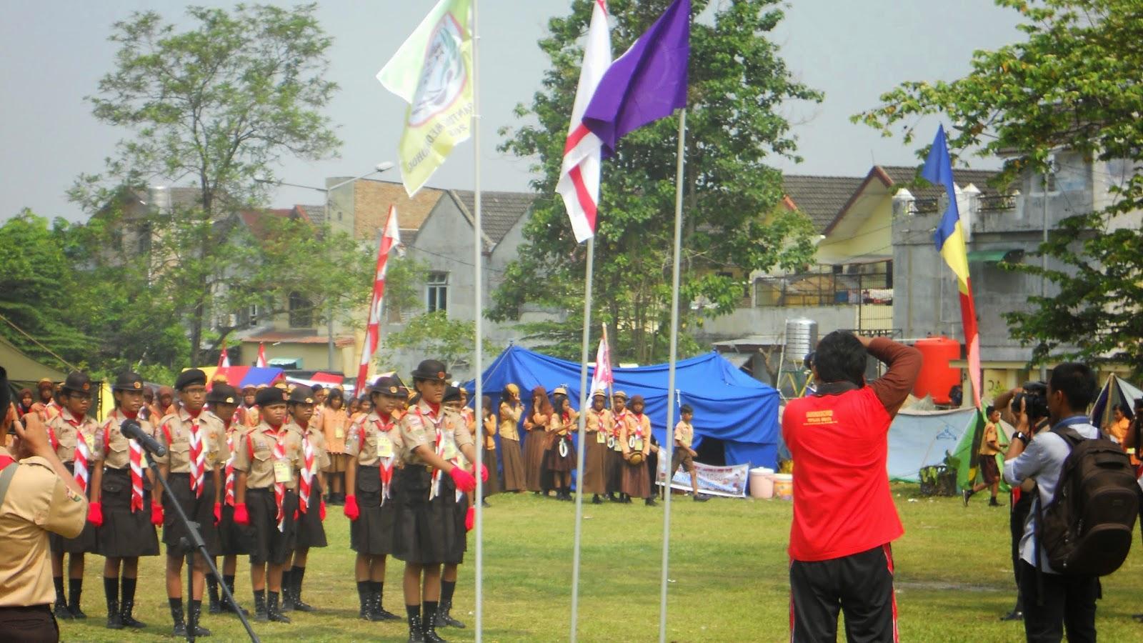 Pramuka Kwaran Medan Selayang Asyiknya Kegiatan Jambore Ranting Mengadakan Dilaksanakan