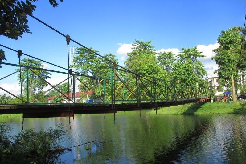 Taman Cadika Danau Bado Kawasan Citra Wisata Medan Johor Jembatan