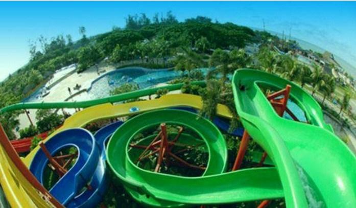 Taman Cadika Danau Bado Kawasan Citra Wisata Medan Johor Seru