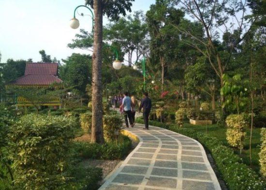 Taman Cadika Pramuka Mulai Ramai Dikunjungi Sorasirulo Kota Medan