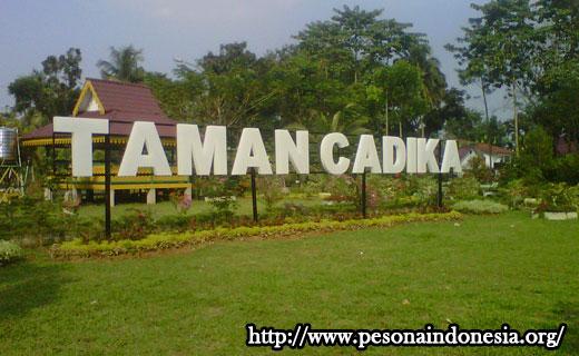 Taman Cadika Pramuka Pesona Indonesia Kota Medan