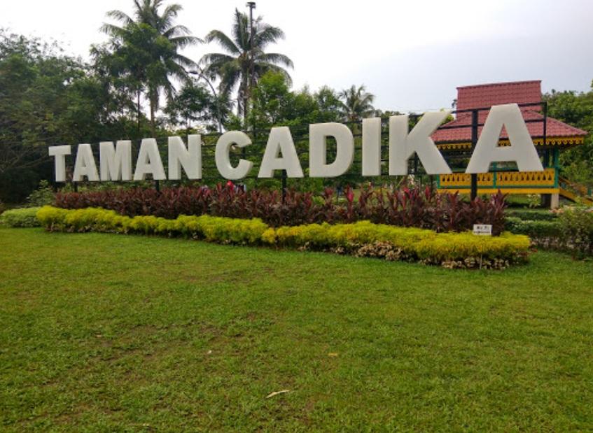 Tempat Wisata Romantis Medan Travel Ruang Media Taman Cadika Pramuka