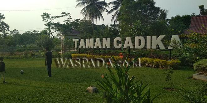 Usai Dibenahi Warga Kunjungi Taman Cadika Pramuka Waspada Kota Medan