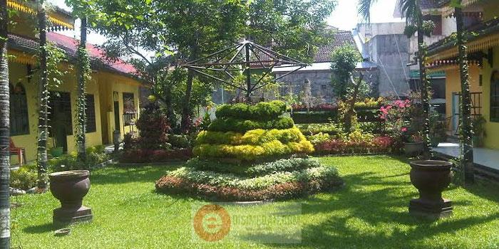Kantor Camat Medan Amplas Disulap Menjadi Taman Bunga Kecamatan Asri2