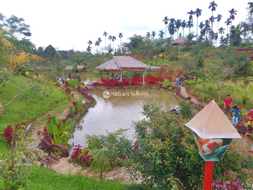 Le Hu Garden Taman Asik Kekinian Medan Wisata Life Kebun