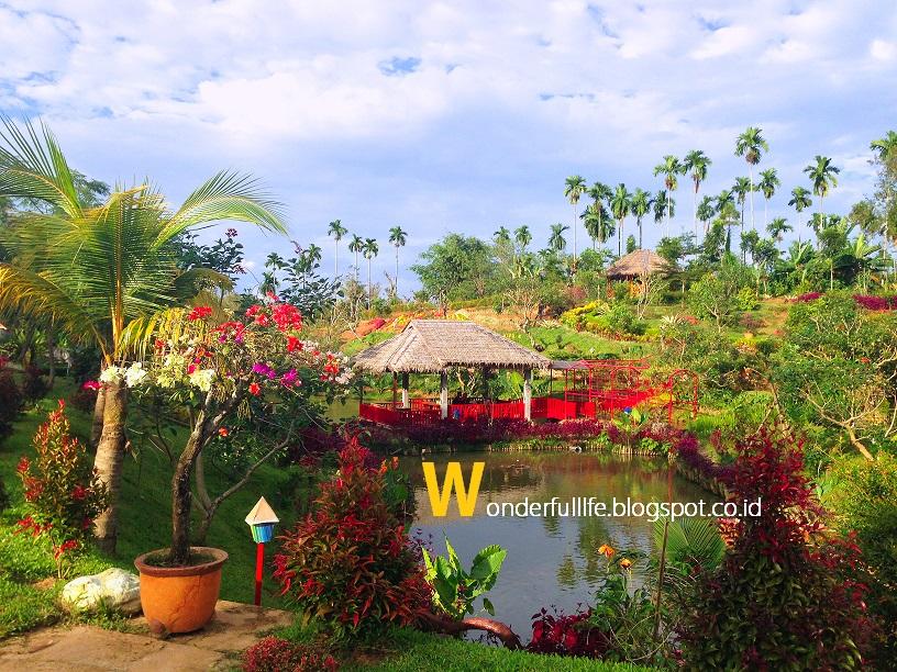 Le Hu Garden Taman Wisata Keluarga Alam Terbuka Travelicious Berlokasi
