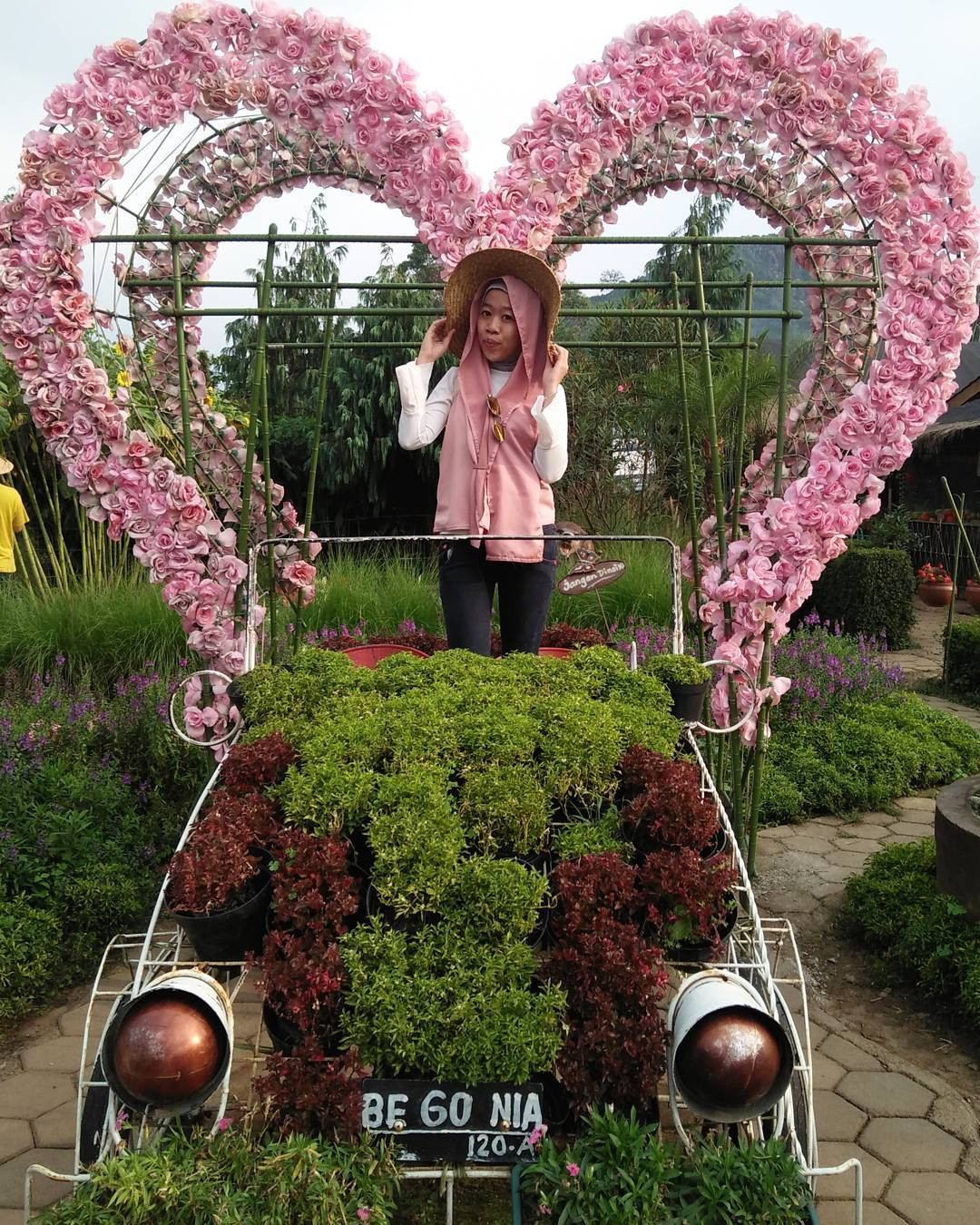 Piknikyok Rute Lokasi Kebun Bunga Begonia Lembang Taman Romantis Bandung
