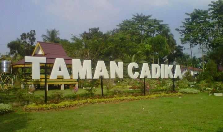 Pilihan Wisata Hijau Kota Medan Kabarmaya Id Taman Cadika Kebun
